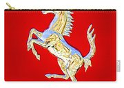 1999 Ferrari 550 Maranello Stallion Emblem Carry-all Pouch