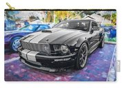 2007 Ford Mustang Shelby Gt Painted  Carry-all Pouch