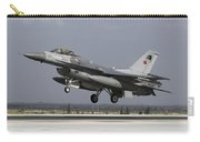 A Turkish Air Force F-16c Fighting Carry-all Pouch