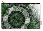 Abstract Mechanical Fractal Carry-all Pouch by Martin Capek