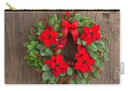 Advent Wreath With Winter Rose Carry-all Pouch