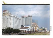 Aerial Of Downtown Atlantic City Carry-all Pouch