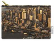 Aerial View Of Seattle Skyline Along Waterfront Carry-all Pouch