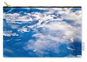 Aerial View Of Snowcapped Peaks In Bc Canada Carry-all Pouch