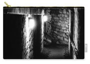 Altered Image Of The Catacomb Tunnels In Paris France Carry-all Pouch