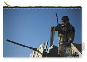 An Afghan National Army Soldier Carry-all Pouch