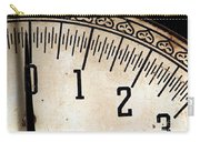 Antique Scale Carry-all Pouch