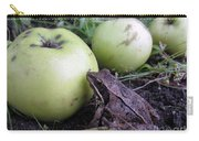 3 Apples And A Frog Carry-all Pouch
