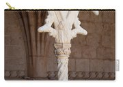 Architectural Details Of Jeronimos Monastery In Lisbon Carry-all Pouch