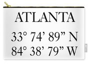 Atlanta Coordinates Carry-all Pouch