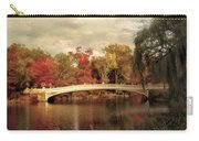Autumn At Bow Bridge Carry-all Pouch