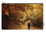 Autumn Stroll Carry-all Pouch by Jessica Jenney