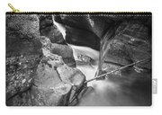 Avalanche Gorge Glacier National Park  Bw  Carry-all Pouch