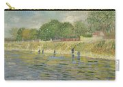 Bank Of The Seine Carry-all Pouch