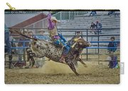 Bareback Bronc Riding Carry-all Pouch