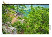 Beautiful Aerial Landscape Views From Crowders Mountain North Ca Carry-all Pouch