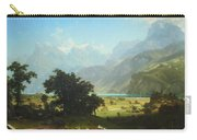Bierstadt's Lake Lucerne Carry-all Pouch