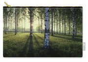 Birch Trees By The Vuoksi River Carry-all Pouch