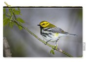 Black Throated Green Warbler Carry-all Pouch