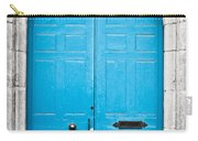Blue Door Carry-all Pouch by Tom Gowanlock
