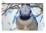 Blue Jay With Bread  Carry-all Pouch