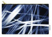 Blue Lines  Carry-all Pouch by Les Cunliffe