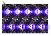 Blue Poppy Fish Abstract Carry-all Pouch