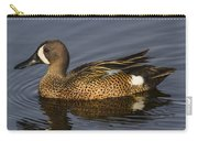 Bluewing Teal Carry-all Pouch