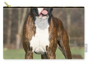 Boxer Dog Carry-all Pouch by Johan De Meester