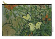 Butterflies And Poppies Carry-all Pouch