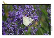 Cabbage White Butterfly Carry-all Pouch