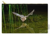 California Leaf-nosed Bat At Pond Carry-all Pouch