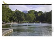 Central Park Pond Carry-all Pouch