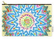 Colorful Signature Art Chakra Round Mandala By Navinjoshi At Fineartamerica.com Rare Fineart Images  Carry-all Pouch by Navin Joshi