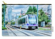 Charlotte North Carolina Light Rail Transportation Moving System Carry-all Pouch