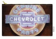 Chevrolet Neon Sign Carry-all Pouch