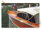 Chris Craft Runabout On Geneva Carry-all Pouch