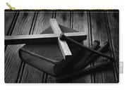 Christian Cross And Rusty Nails Carry-all Pouch