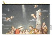 Christmas Card Carry-all Pouch by French School