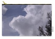 Clouds And Trees Carry-all Pouch