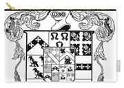 Coat Of Arms Carry-all Pouch