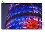 Colorful Elevation Of Modern Building Carry-all Pouch