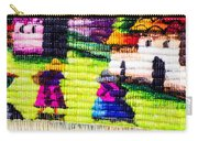 Colorful Fabric At Market In Peru Carry-all Pouch