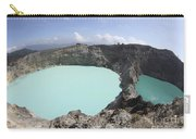 Colourful Crater Lakes Of Kelimutu Carry-all Pouch by Richard Roscoe