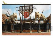 Comerica Park - Detroit Tigers Carry-all Pouch by Frank Romeo