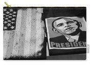 Commercialization Of The President Of The United States Of America In Black And White Carry-all Pouch
