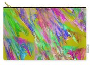 Computer Generated Abstract Fractal Flame Carry-all Pouch