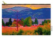 Cowichan Bay From Doman's Road Carry-all Pouch