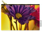 Daisies In A Vase On Shelf Carry-all Pouch