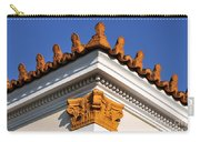 Decorative Roof Tiles In Plaka Carry-all Pouch